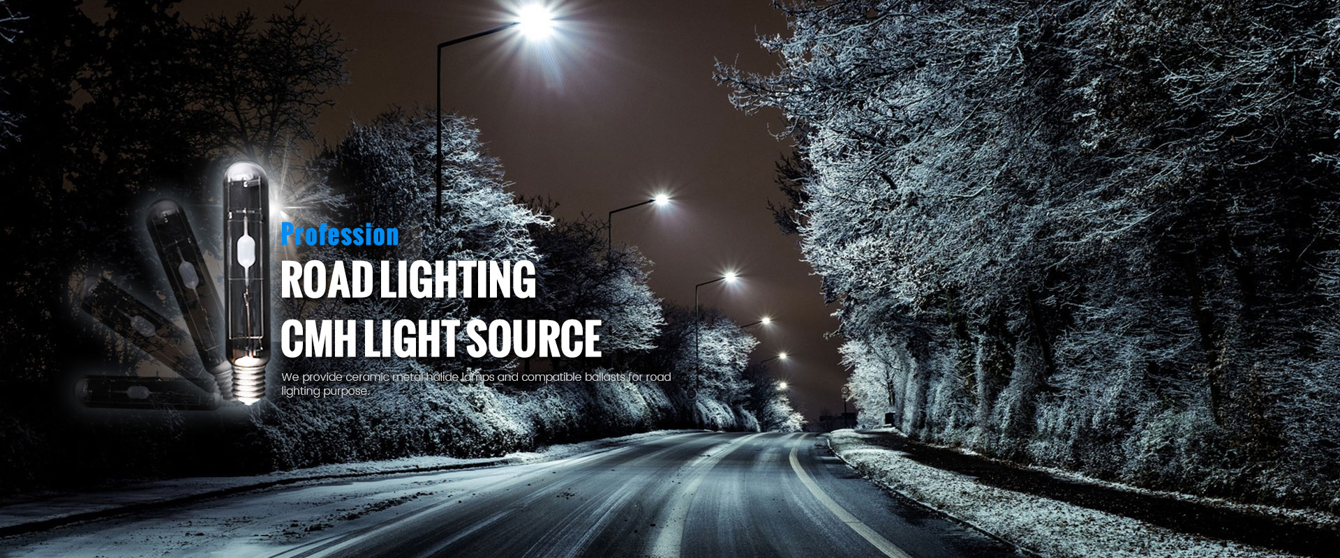 How to set the internal and external light transmission in the night scene lighting project